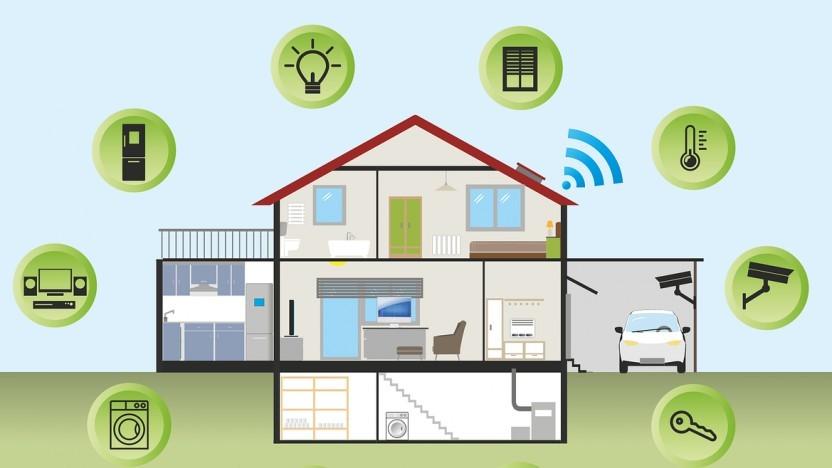 Fürs Smart Home kommen verschiedene Funklösungen infrage.