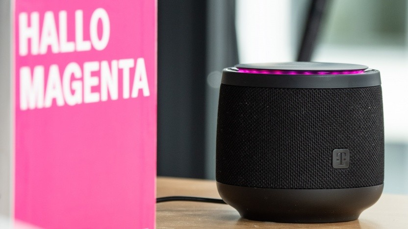 Telekom Smart Speaker mit Magenta und Alexa (Video)