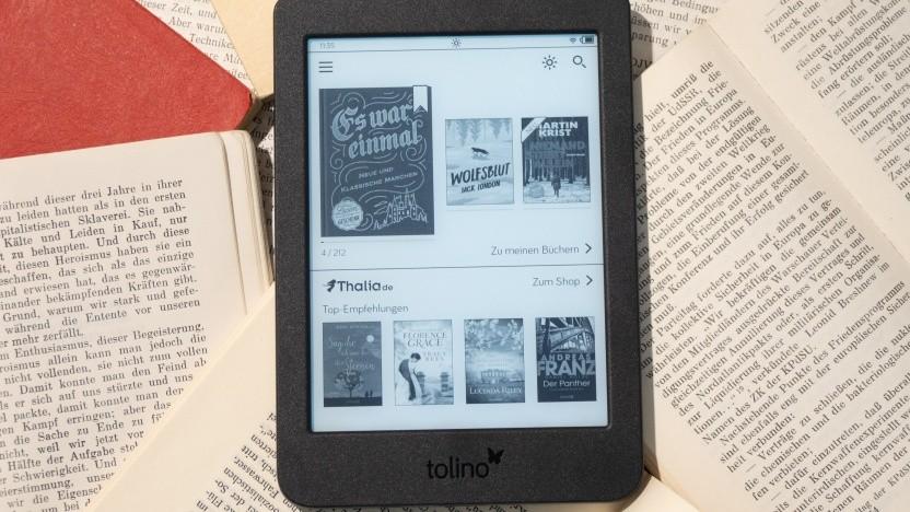 Tolinos Page 2 mit Displaylicht und höherer Auflösung