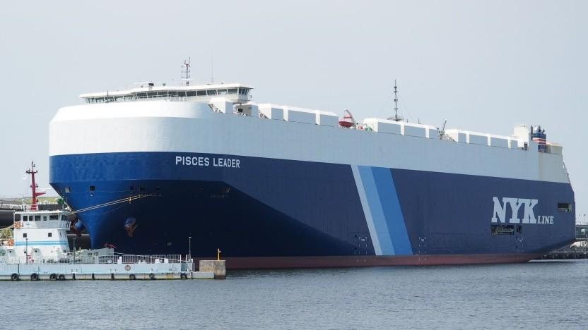 Autotransporter von NYK (Symbolbild): wichtiger Schritt für die Einführung von bemannten autonomen Schiffen