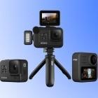 Actionkameras: GoPro stellt Hero 8 und Surroundkamera Max vor