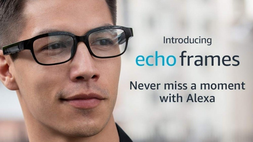 Mit der Brille Echo Frames will Alexa nichts mehr verpassen.