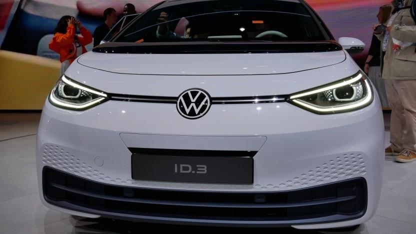 Elektroautos wie der ID.3 von VW sollen stärker gefördert werden.