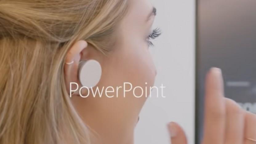 Die Surface Earbuds funktionieren mit Office 365.