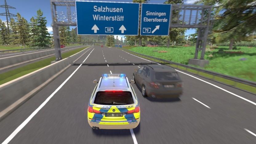 Artwork des Autobahnpolizei-Simulator 2