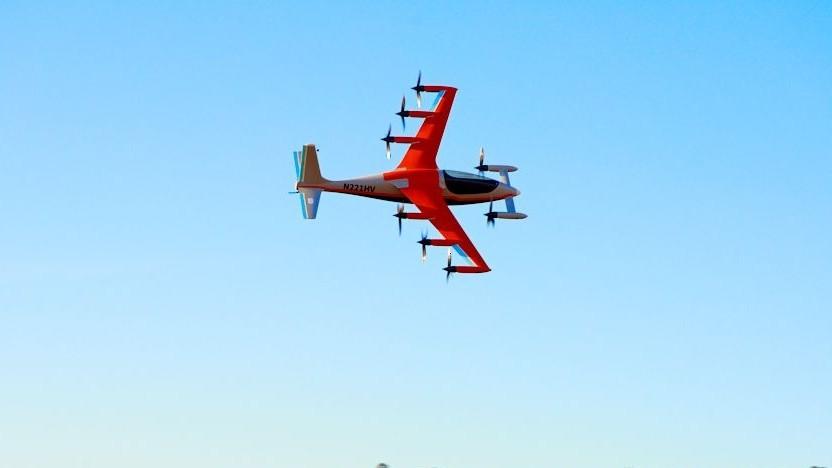Elektroflieger Heaviside