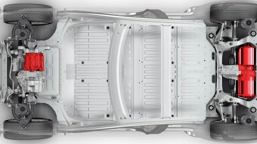 Model S Akku