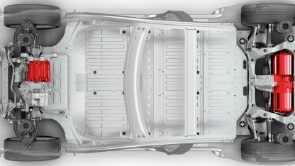 Akku des Model S