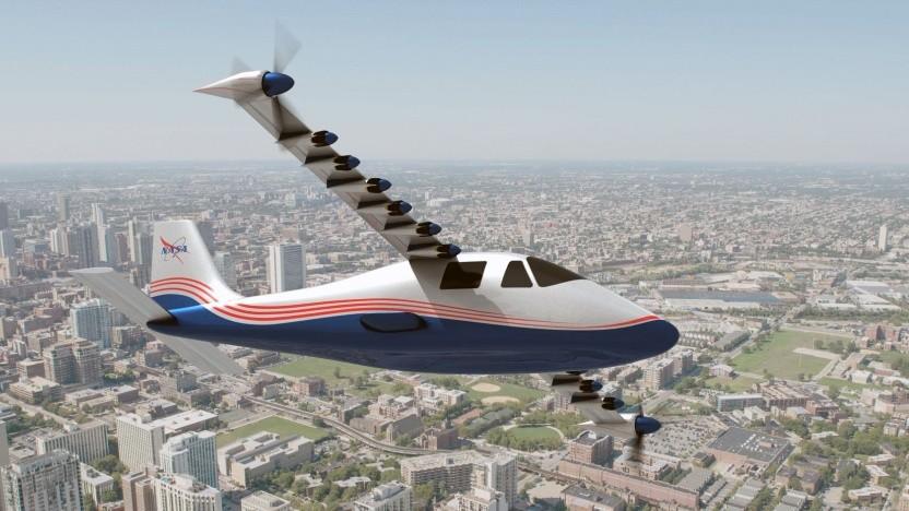 Elektroflugzeug X-57 Maxwell: 14 Motoren in der Ausbaustufe Mod IV