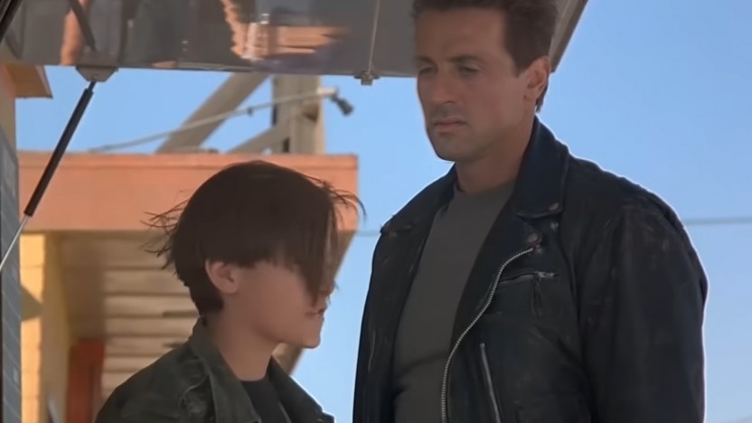 Sylvester Stallone in Terminator 2: Judgement Day