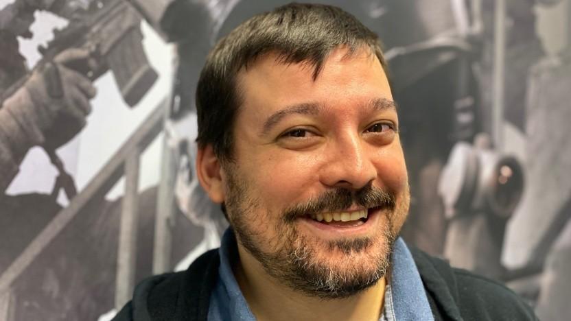 Marc-Alexandre Boulanger-Milot beim Interview mit Golem.de