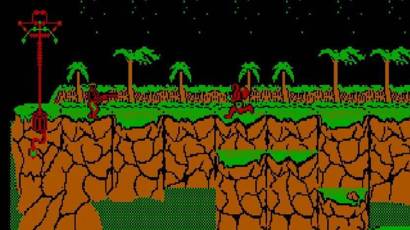 Contra ist eines von vielen emulierten DOS-Spielen.