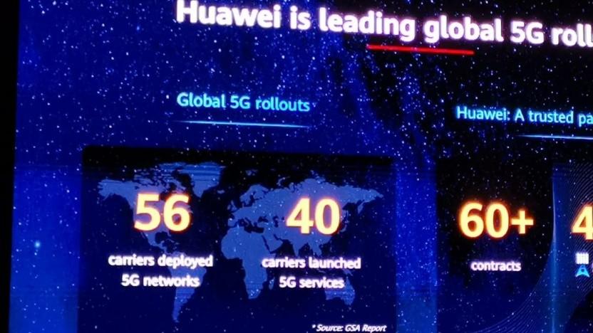 Quartalsbericht: Huawei steigert Umsatz trotz US-Embargo - Golem.de