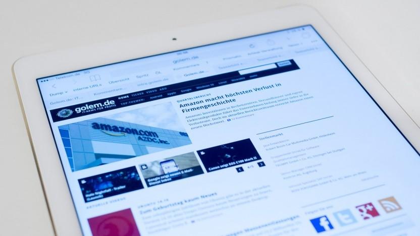 Das iPad Air 2 von Apple