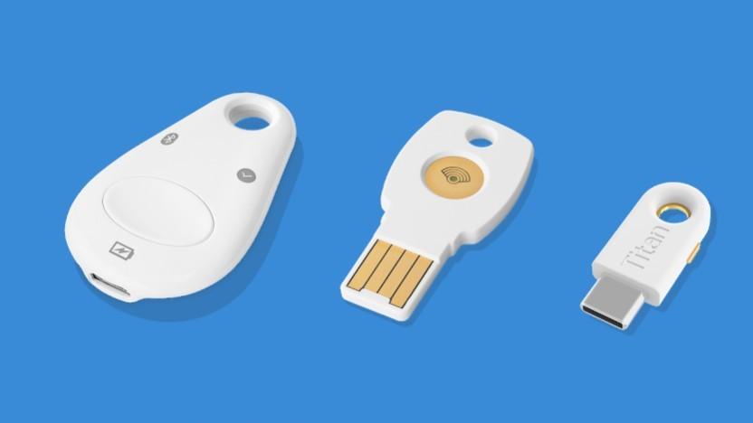 Titan: Neuer Fido-Stick mit USB-C von Google - Golem.de