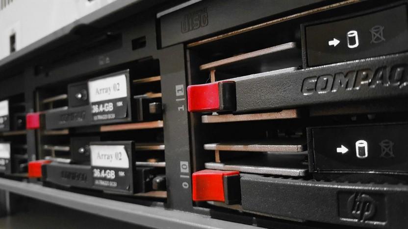 Ein Server (Stockfoto)