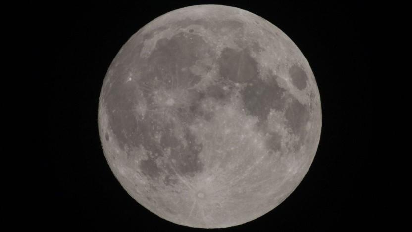 Der Mond (Symbolbild): politisch, nicht technisch motiviert