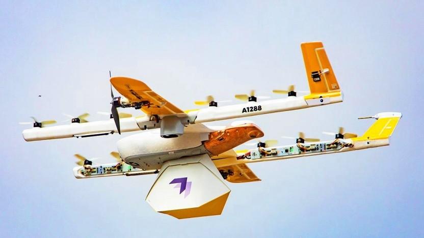 Wing Aviation: Kommerzielle Warenlieferung per Drohne in USA gestartet - Golem.de