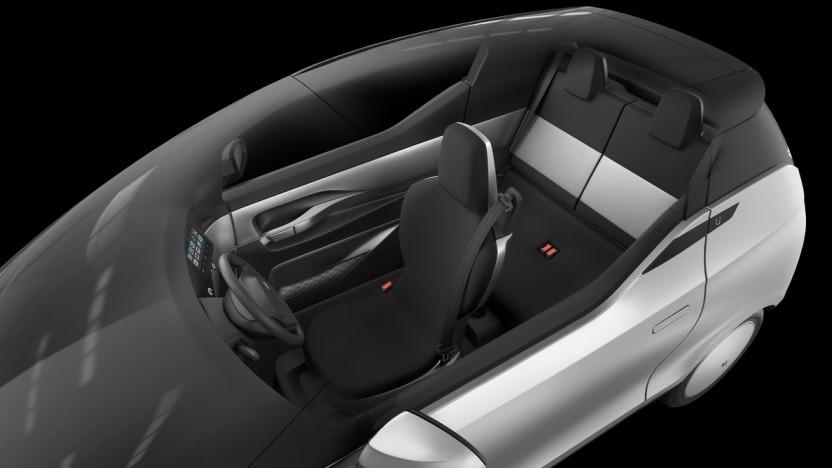 Elektroauto: Uniti One soll Sitzanordnung wie ein McLaren F1 haben - Golem.de