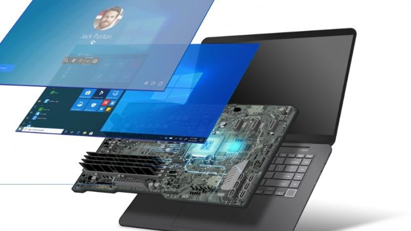 Die Secure-core PCs sollen von der Hardware über Firmware bis zum Windows-System vertrauenswürdige Software verwenden.