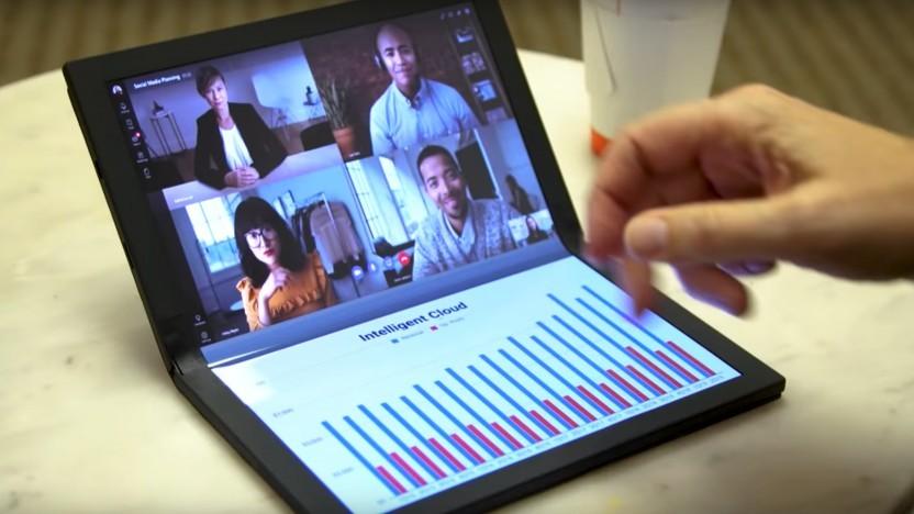 Lenovos Foldable-PC kommt bald.