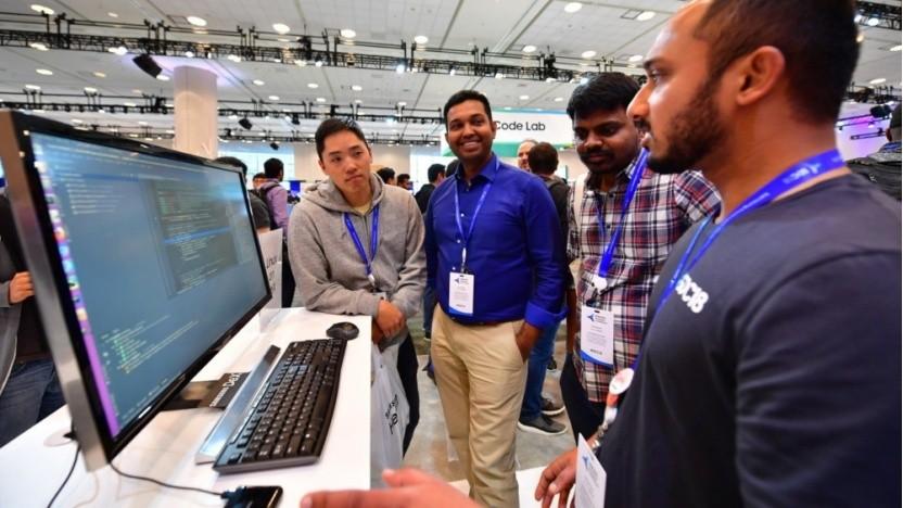 Auf seiner Entwicklermesse 2018 hatte Samsung eine Demo von Linux-on-Dex präsentiert.