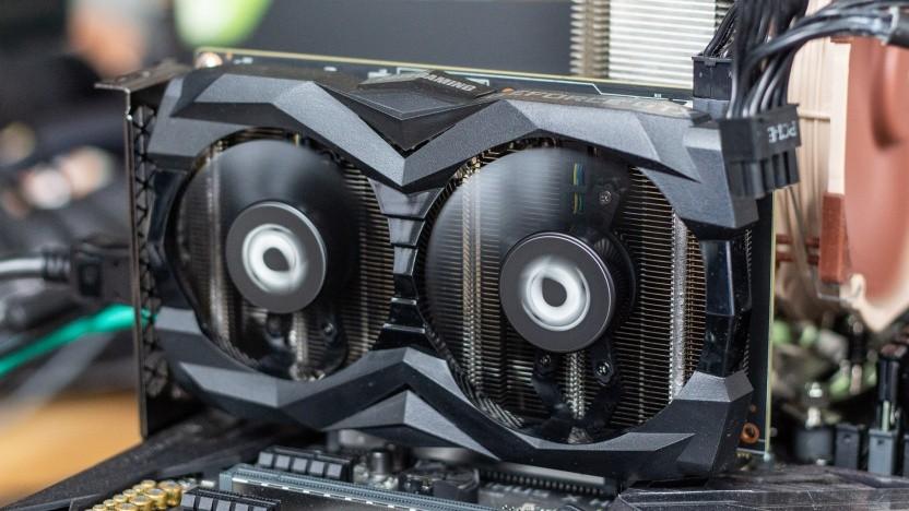Geforce GTX 1660 Super als Twin Fan von Zotac