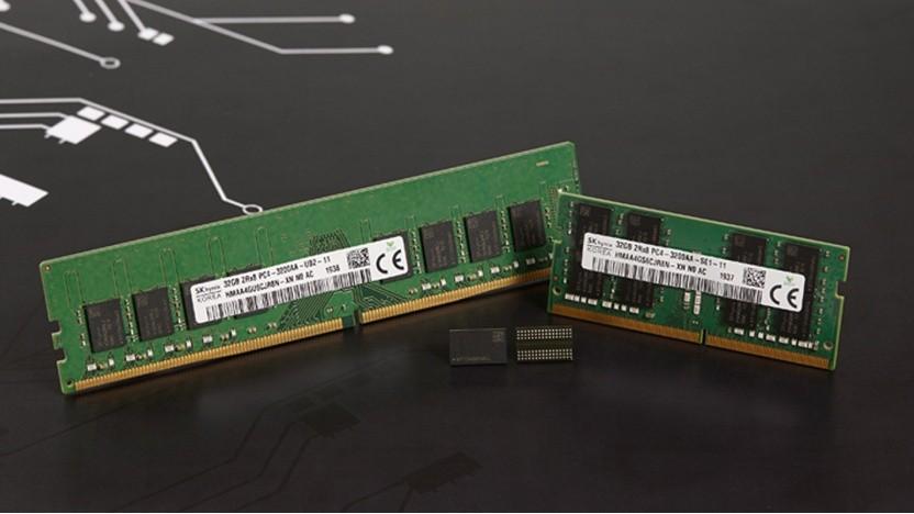 Speicherchips mit 16 GBit und 1Z-nm-Fertigung