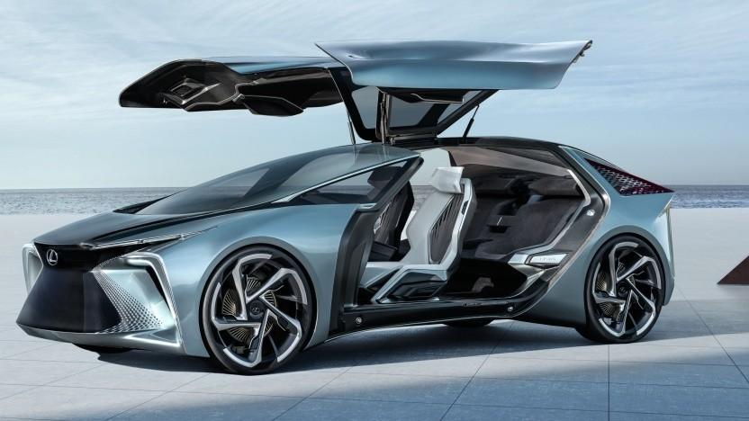 Futuristisches Design mit Flügeltüren: der Lexus LF-30 Electrified Concept