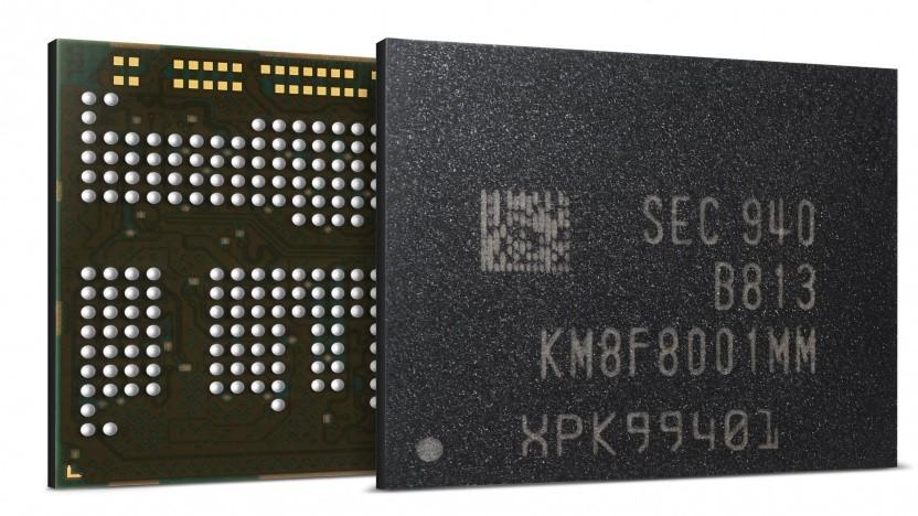 uMCP mit 12 GByte LPDDR4X-4266