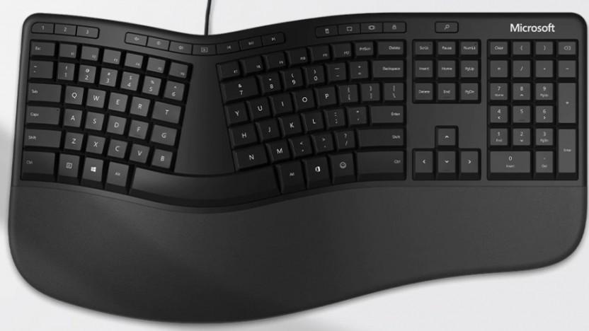 Microsofts Ergonomic Keyboard