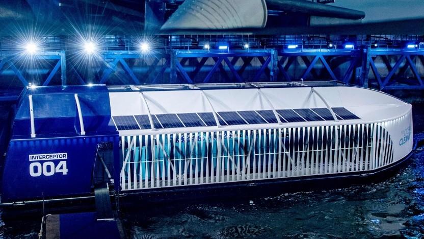 The Interceptor von The Ocean Cleanup