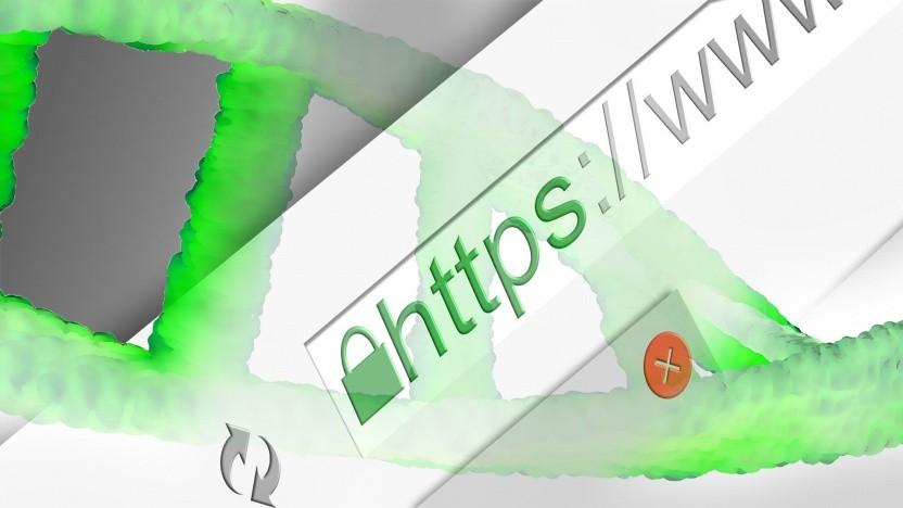 DNS läuft auch über HTTPS (Symbolbild).