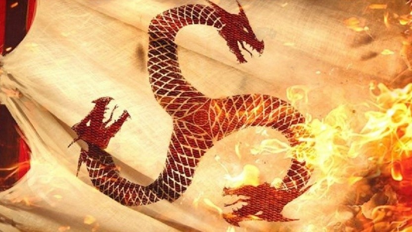 House of the Dragon basiert auf Martins Buch Fire & Blood.