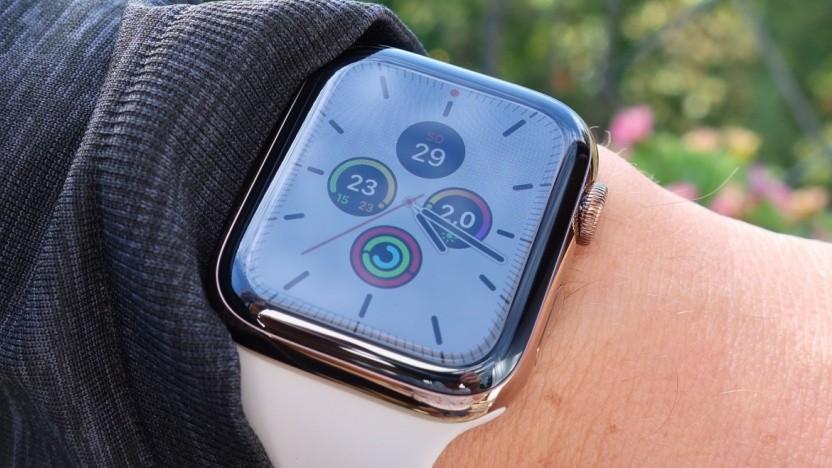 Unter anderem bekommt die Apple Watch 5 das Update.