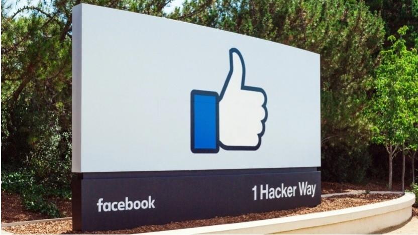 Der Hauptsitz des Betreibers sozialer Netzwerke
