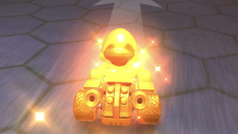 Goldmario in Mario Kart Tour