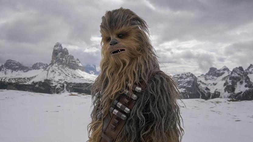 Tu nicht so überrascht, Chewie!