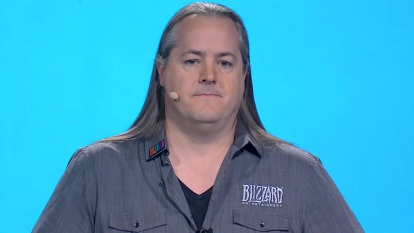 Blizzard-Chef J. Allen Brack auf der Blizzcon 2019
