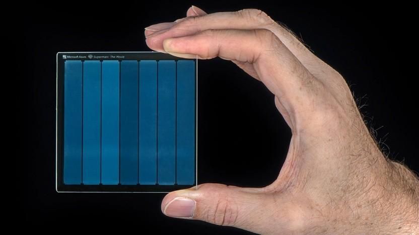 Speichermedium aus Glas: keine konstante Temperatur, keine ständige Pflege