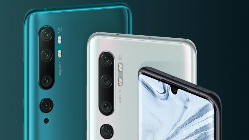 Das Mi Note 10 von Xiaomi mit seiner Fünffachkamera