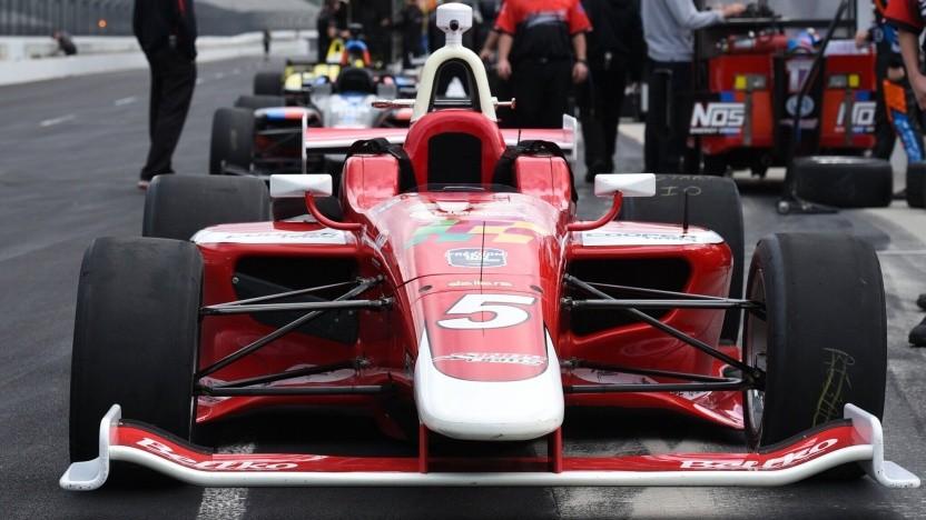 Die Indy-Light-Rennwagen sollen bis 2021 ohne Fahrer über die Rennstrecke von Indianapolis fahren.