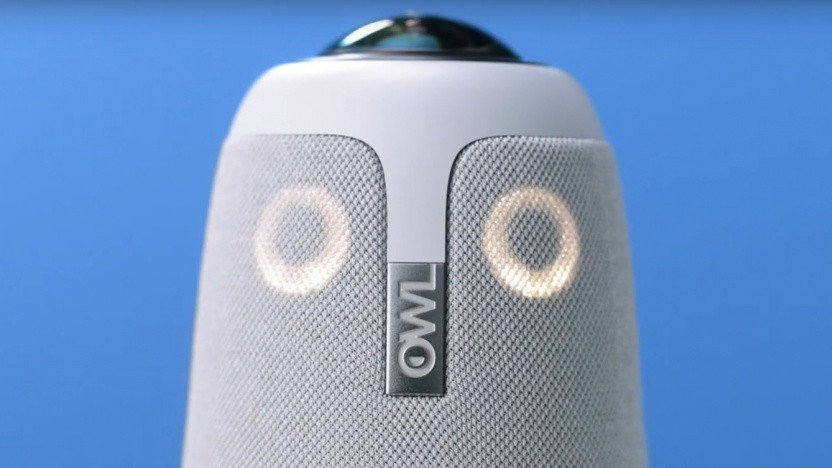Die Meeting Owl Pro behält ihre sonderbare Optik bei.