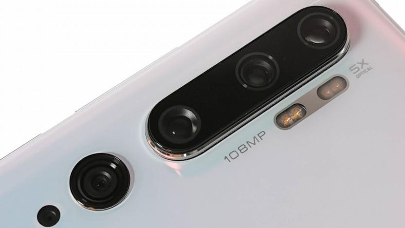 Die Kamera des Mi Note 10