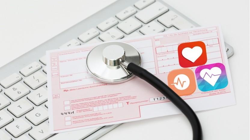 Künftig dürfen Ärzte Gesundheits-Apps verschreiben.