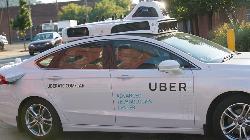 In einem autonomen Uber-Auto wurde Waymo-Technologie gefunden.
