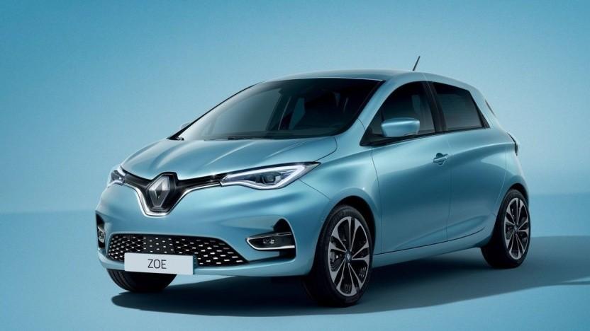 Sonnendrive: Der Renault Zoe ist das kleinste Modell in Sonnens Elektroautovermietung.