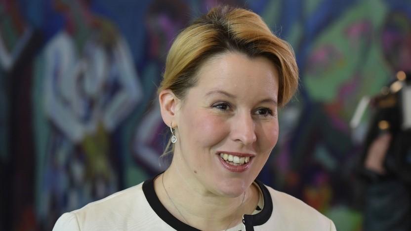 Franziska Giffey, Bundesministerin für Familie, Senioren, Frauen und Jugend