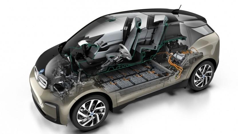 BMW i3: das Elektroauto als Netzspeicher