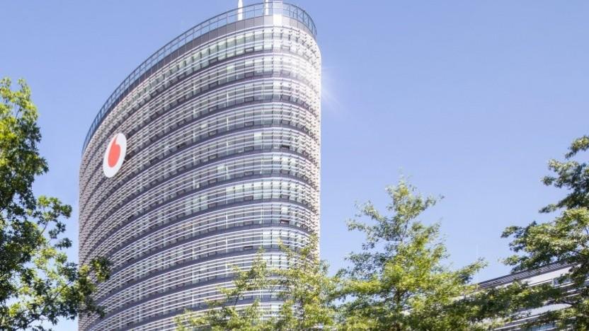 Hauptsitz von Vodafone Deutschland